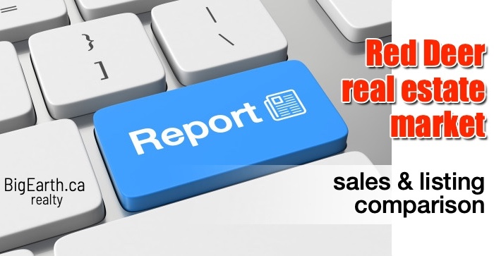 real estate report red deer