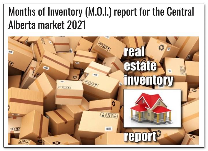 real estate inventory red deer