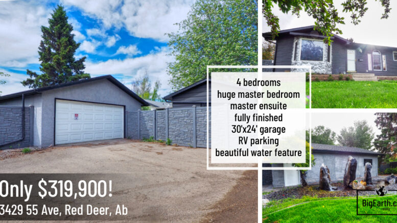 3429 55 Ave for sale red deer
